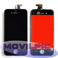 Pantalla completa Iphone 4s Negro