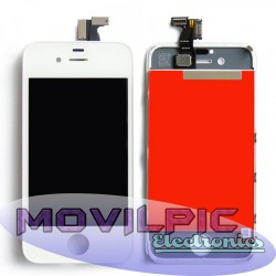 Pantalla completa Iphone 4 Blanca